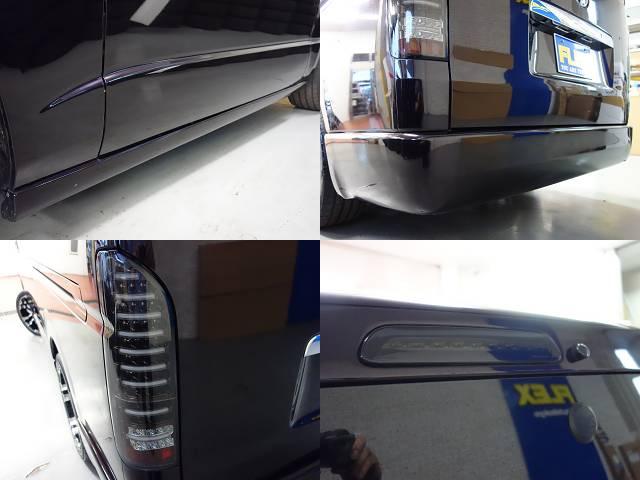 サイドステップ、リアバンパーも415コブラ製!! | トヨタ ハイエースバン 3.0 スーパーGL プライムセレクション ロング ディーゼルターボ