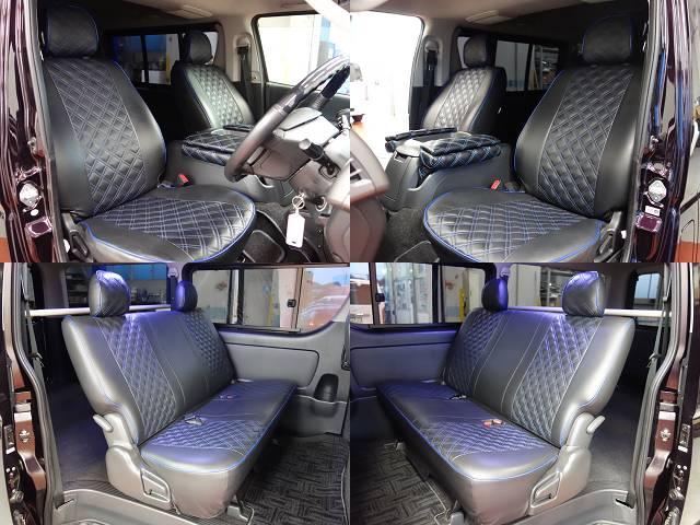 社外シートカバー装着済み!! | トヨタ ハイエースバン 3.0 スーパーGL プライムセレクション ロング ディーゼルターボ