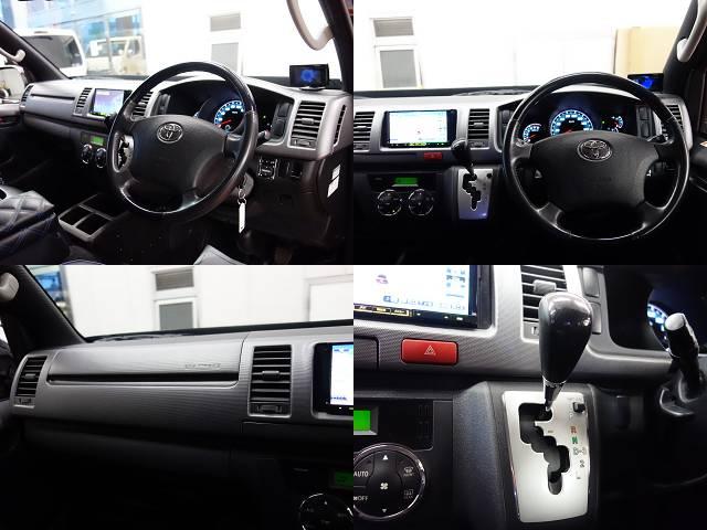 プライムセレクション専用のコンビハンドル、ノブ装着済み!! | トヨタ ハイエースバン 3.0 スーパーGL プライムセレクション ロング ディーゼルターボ