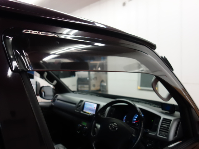 純正サイドバイザー装着済み!! | トヨタ ハイエースバン 3.0 スーパーGL プライムセレクション ロング ディーゼルターボ