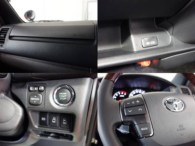 メーカーオプションも多数装備!! | トヨタ ハイエースバン 2.0 スーパーGL 50TH アニバーサリー リミテッド ロングボディ