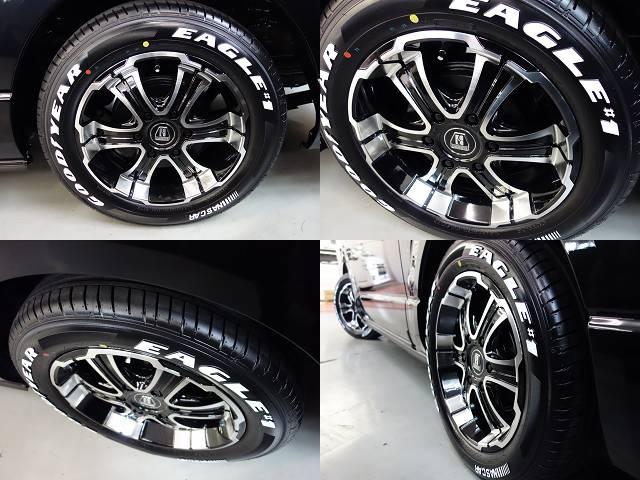 バルベロディープス17インチアルミ!!   トヨタ ハイエース 2.7 GL ロング ミドルルーフ 4WD