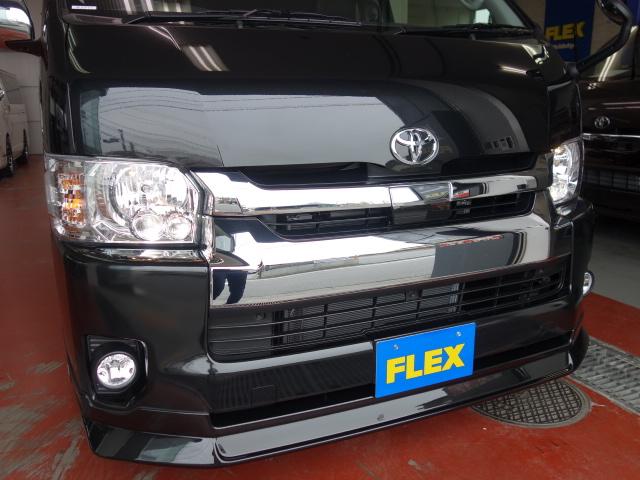 LEDヘッドライト装備!!   トヨタ ハイエース 2.7 GL ロング ミドルルーフ 4WD