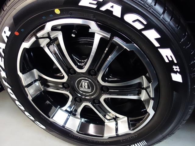 車検対応17インチナスカータイヤ装着済み!!   トヨタ ハイエース 2.7 GL ロング ミドルルーフ 4WD