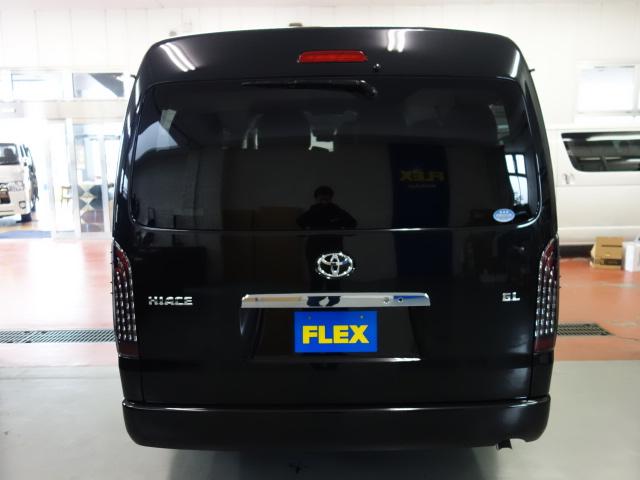 リアビューになります!!   トヨタ ハイエース 2.7 GL ロング ミドルルーフ 4WD