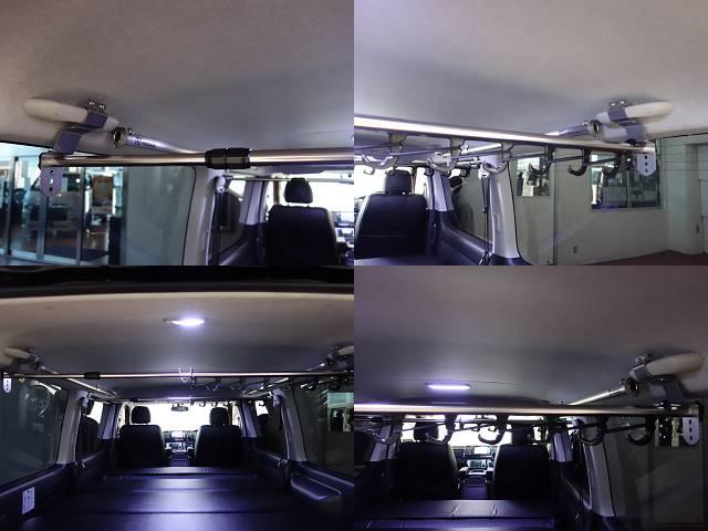 29年式ハイエースVスーパーGL両側パワースライド装備床張りベットKITパッケージ入庫!!