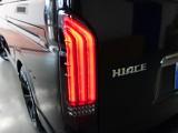 新車ハイエースVダークプライムⅡ2000ガソリン両側パワースライドドア装備ナビパッケージ完成致しました!!
