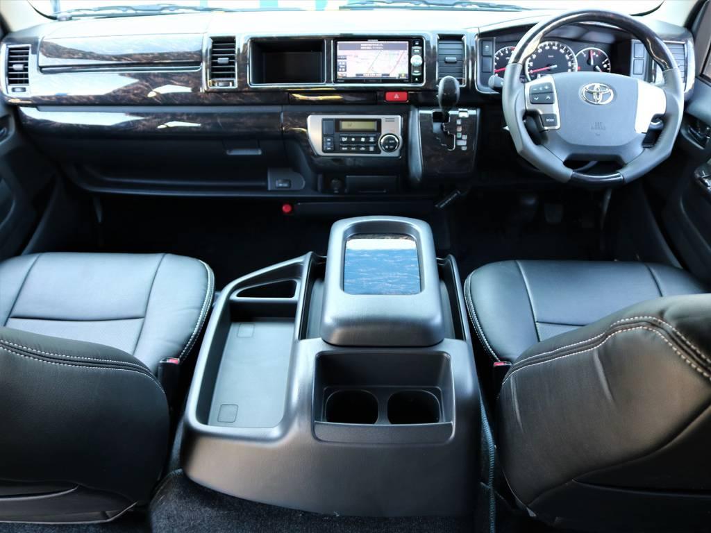 内外装クールに仕上がっております!   トヨタ ハイエース 2.7 GL ロング ミドルルーフ 4WD Wild STYLE WAGON