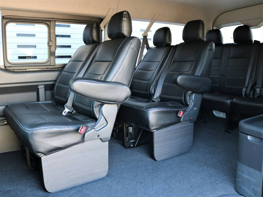 みんなでワイワイお出掛けが楽しいですね!   トヨタ ハイエース 2.7 GL ロング ミドルルーフ 4WD Wild STYLE WAGON