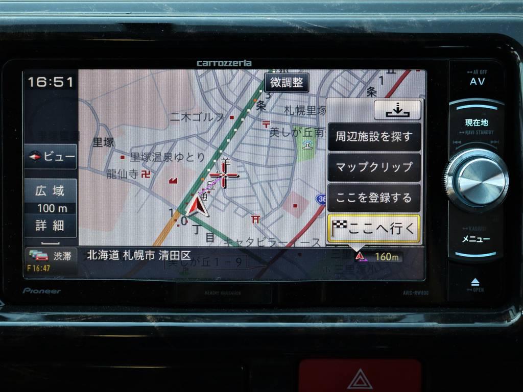 カロッツェリアSDナビ!   トヨタ ハイエース 2.7 GL ロング ミドルルーフ 4WD Wild STYLE WAGON