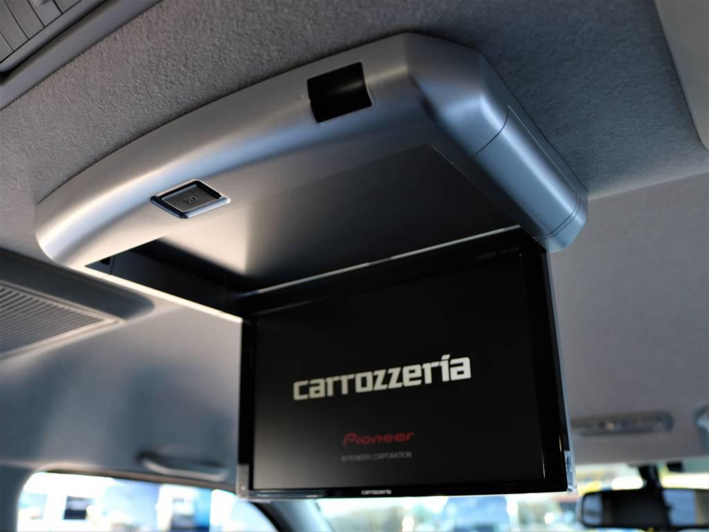 カロッツェリアフリップダウンモニター!   トヨタ ハイエース 2.7 GL ロング ミドルルーフ 4WD Wild STYLE WAGON
