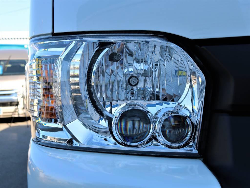 メーカーオプションLEDヘッドライト!   トヨタ ハイエース 2.7 GL ロング ミドルルーフ 4WD Wild STYLE WAGON
