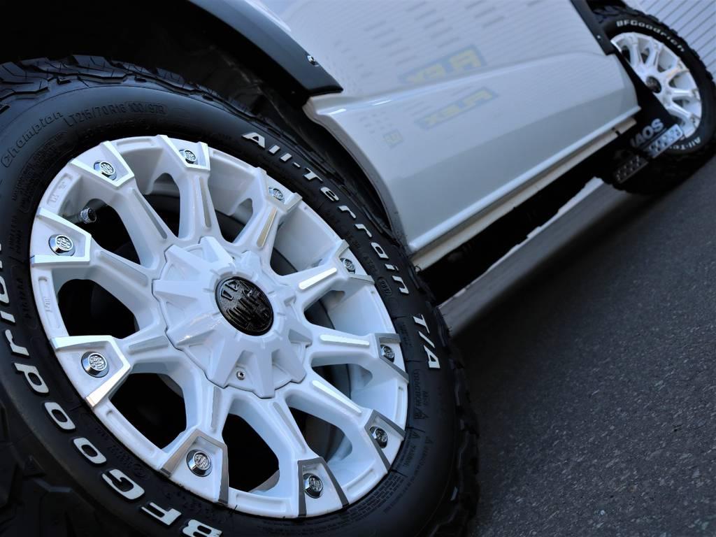 FLEXオリジナルカラー モンスター!   トヨタ ハイエース 2.7 GL ロング ミドルルーフ 4WD Wild STYLE WAGON
