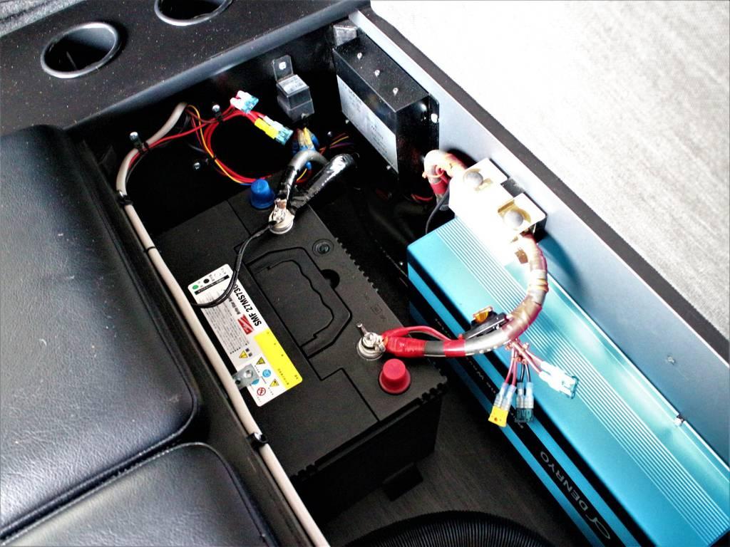 サブバッテリー(走行充電)! | トヨタ ハイエース 2.7 GL ロング ミドルルーフ