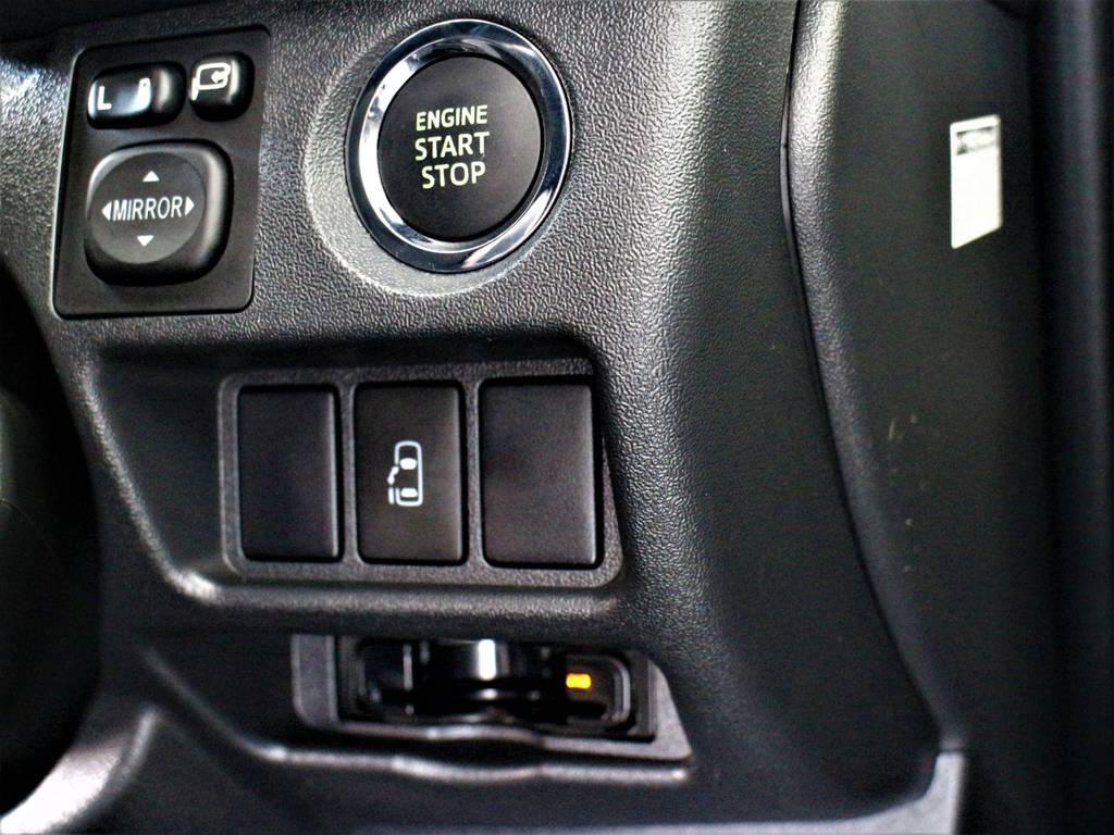 スマートキー&プッシュスタート! 左側パワースライドドア! ビルトインETC! | トヨタ ハイエース 2.7 GL ロング ミドルルーフ