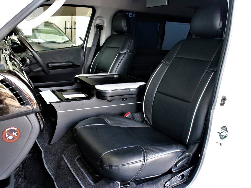 クラフトプラス製シートカバー! | トヨタ ハイエース 2.7 GL ロング ミドルルーフ