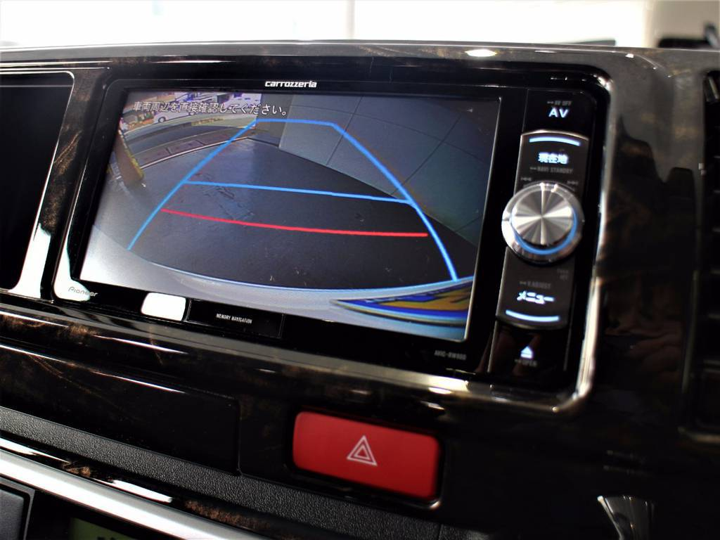 バックモニター付き! | トヨタ ハイエース 2.7 GL ロング ミドルルーフ 4WD サイドオーニング