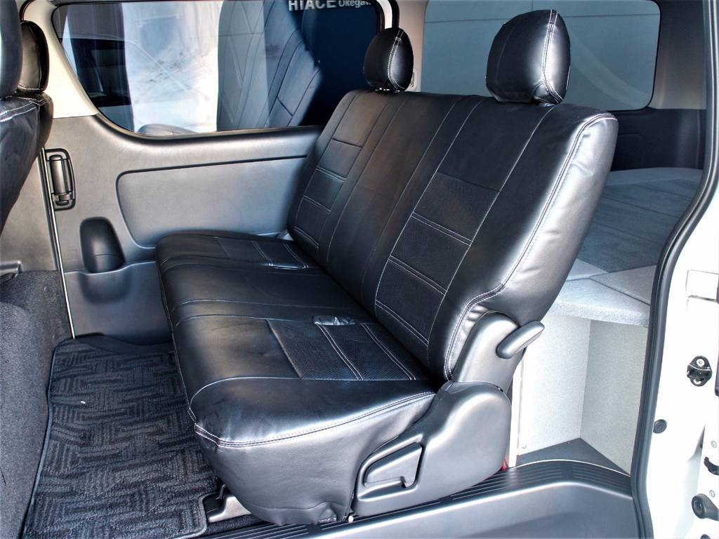 5人乗りです♪   トヨタ レジアスエース 3.0 スーパーGL ロングボディ ディーゼルターボ 3型ディーゼルターボ2WD