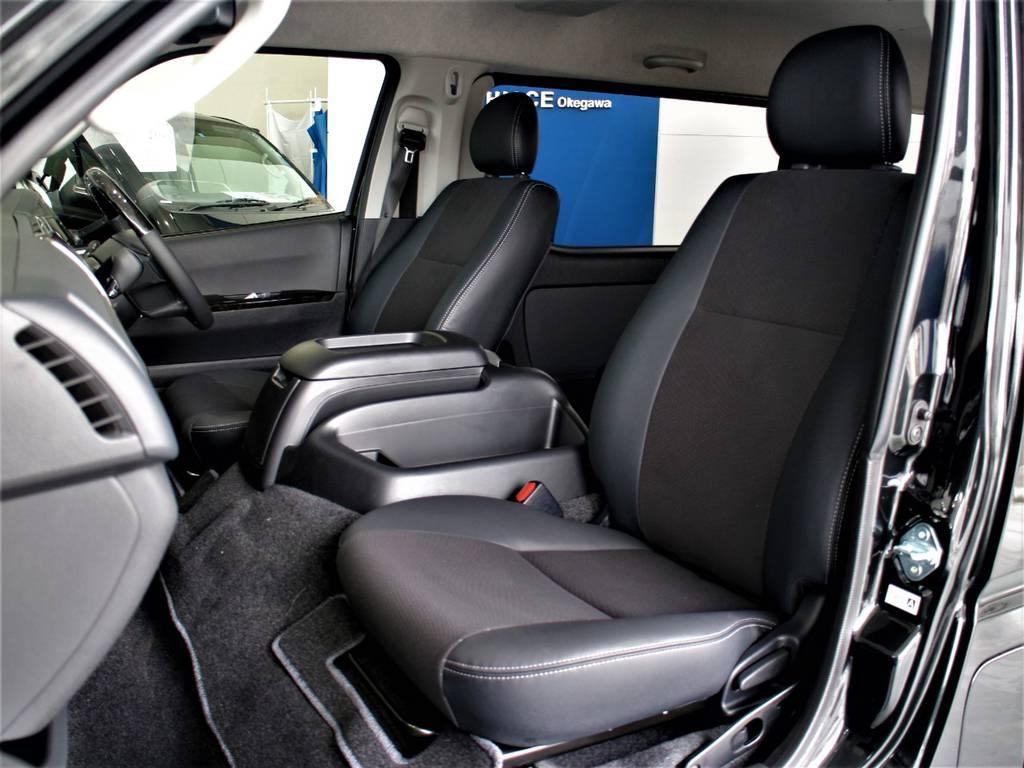 特別仕様車専用シートです! | トヨタ ハイエースバン 2.8 スーパーGL ワイド ロング ミドルルーフ ディーゼルターボ 新型 ダークプライム