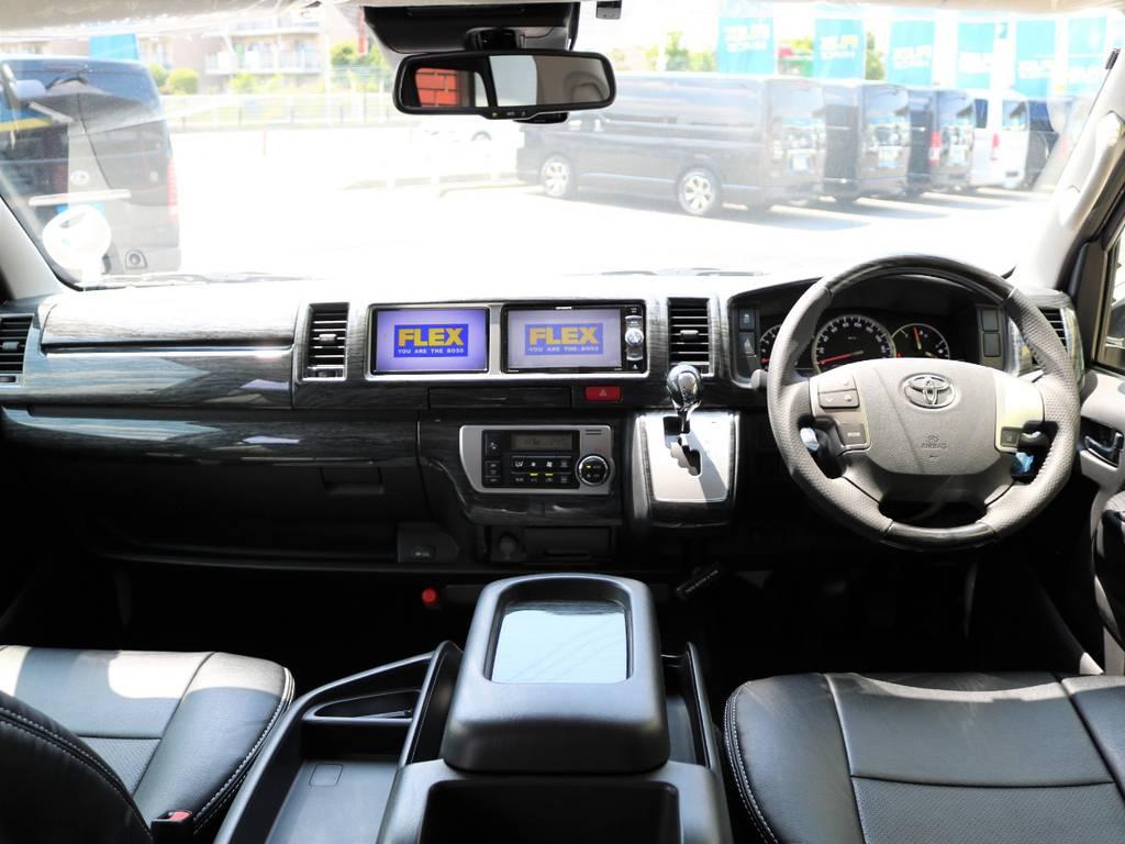 内外装ともに人気のカスタム盛りだくさんです! | トヨタ ハイエース 2.7 GL ロング ミドルルーフ 新型 TSS 試乗車