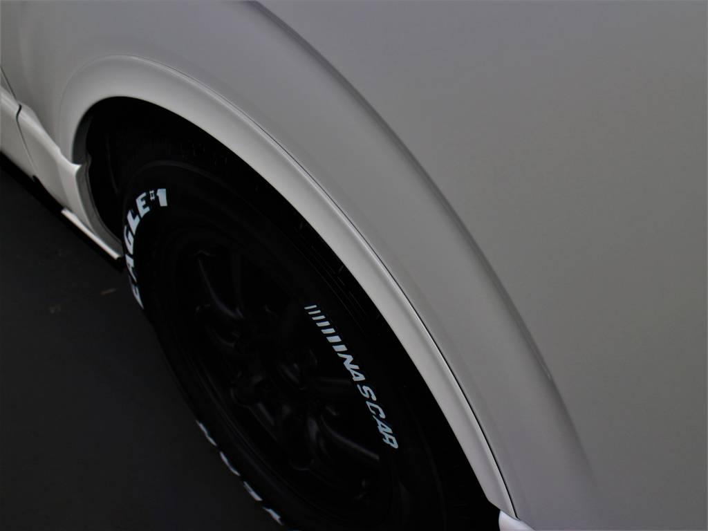CRSリーガルフェンダー! | トヨタ ハイエースバン 2.8 スーパーGL ダークプライム ロングボディ ディーゼルターボ 4WD