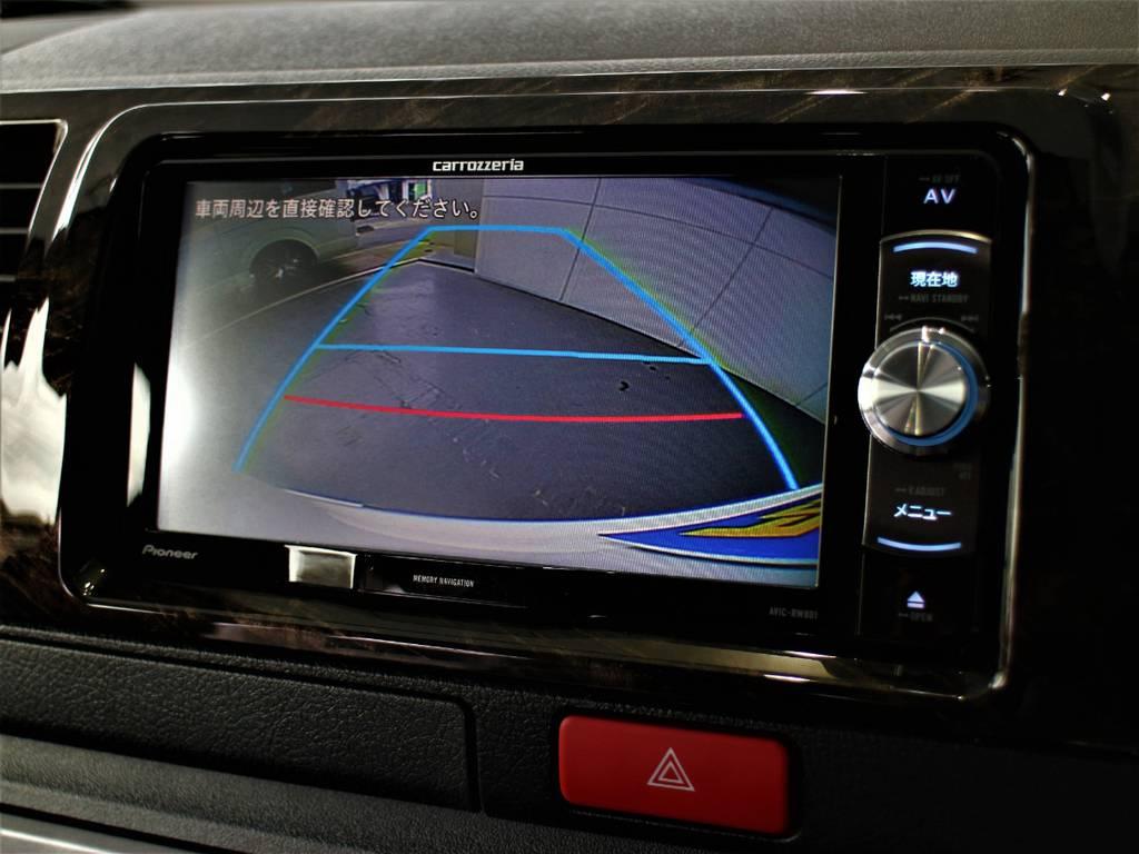 バックモニター連動加工済! | トヨタ ハイエースバン 2.8 スーパーGL ダークプライム ロングボディ ディーゼルターボ 4WD