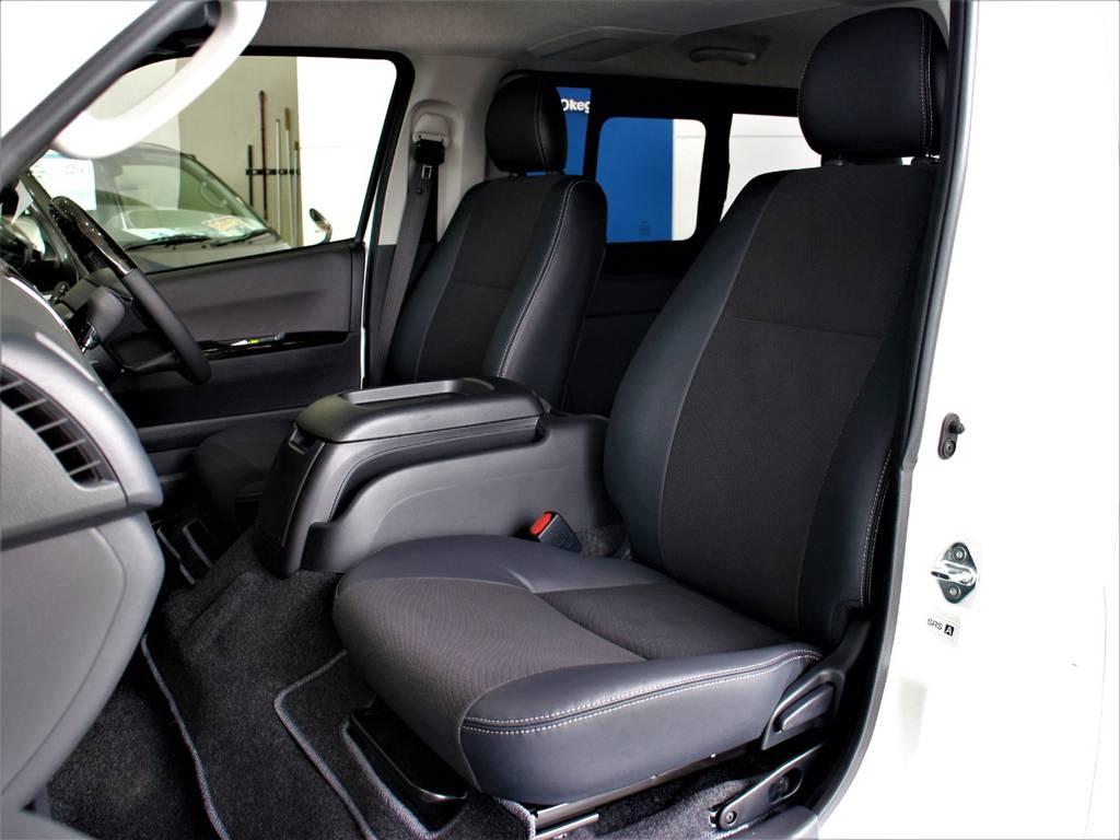 特別仕様車専用シートです! | トヨタ ハイエースバン 2.8 スーパーGL ダークプライム ロングボディ ディーゼルターボ 4WD