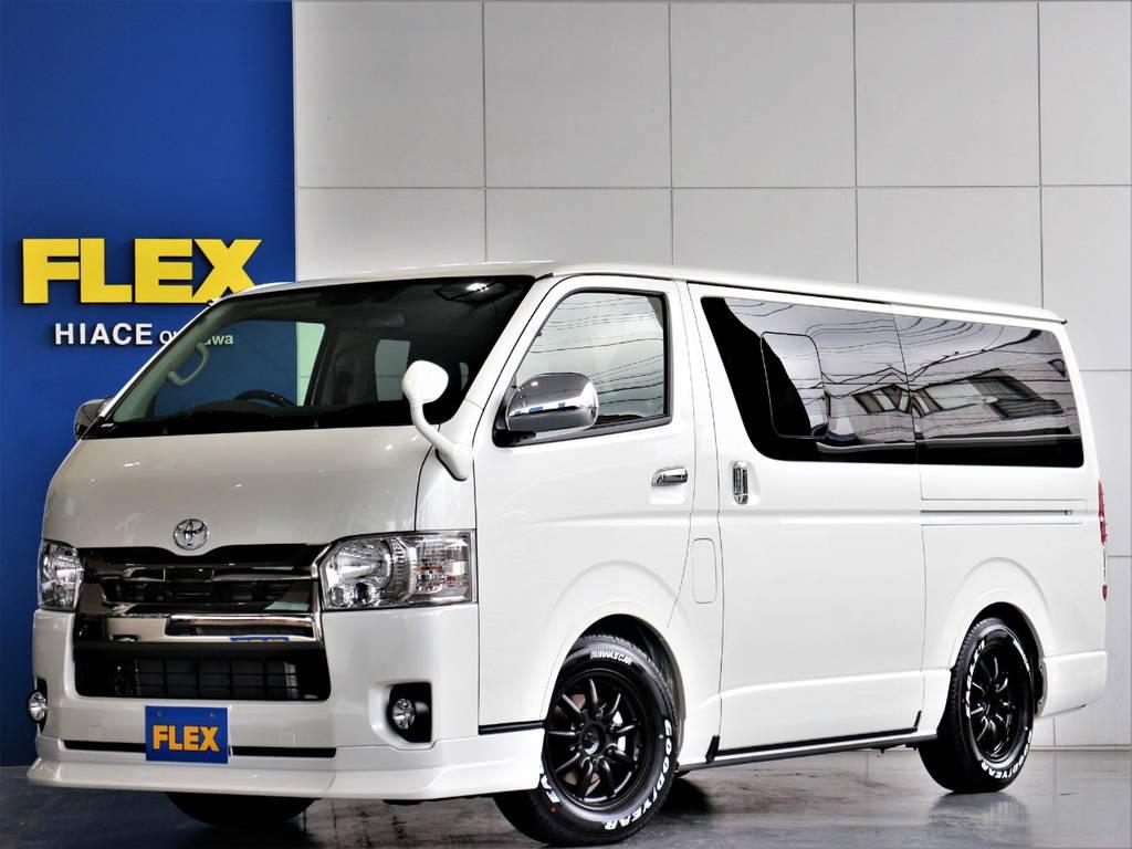 FLEXハイエースさいたま桶川店 お問い合わせはこちらまで 0487799122 | トヨタ ハイエースバン 2.8 スーパーGL ダークプライム ロングボディ ディーゼルターボ 4WD