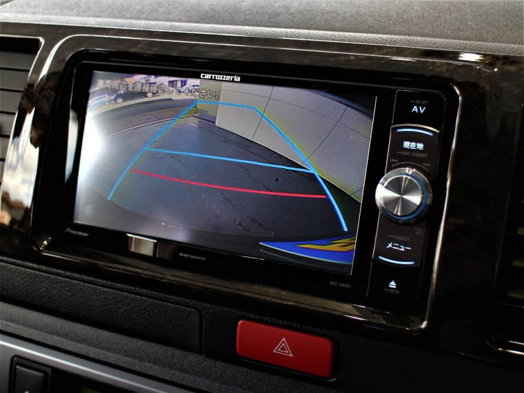 バックカメラ連動加工済! | トヨタ ハイエースバン 2.8 スーパーGL ロング ディーゼルターボ 新型 ダーク セーフティーセンス付