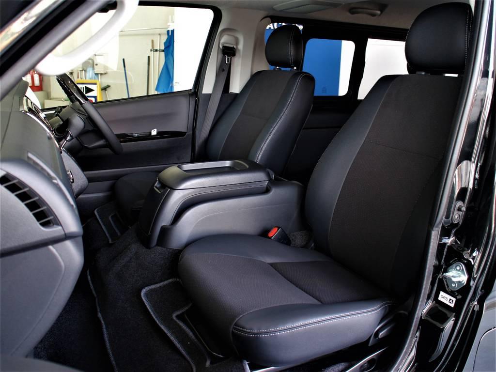 特別仕様車専用シートです! | トヨタ ハイエースバン 2.8 スーパーGL ロング ディーゼルターボ 新型 ダーク セーフティーセンス付