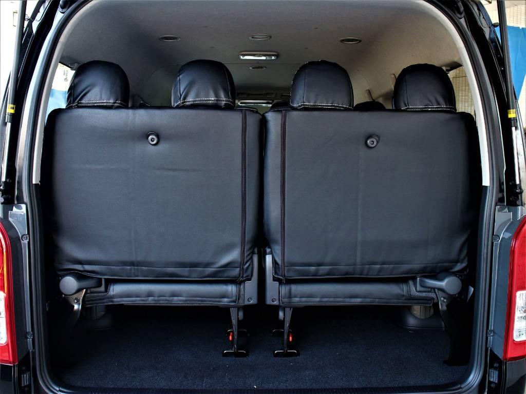 後席4人乗りです! | トヨタ ハイエース 2.7 GL ロング ミドルルーフ