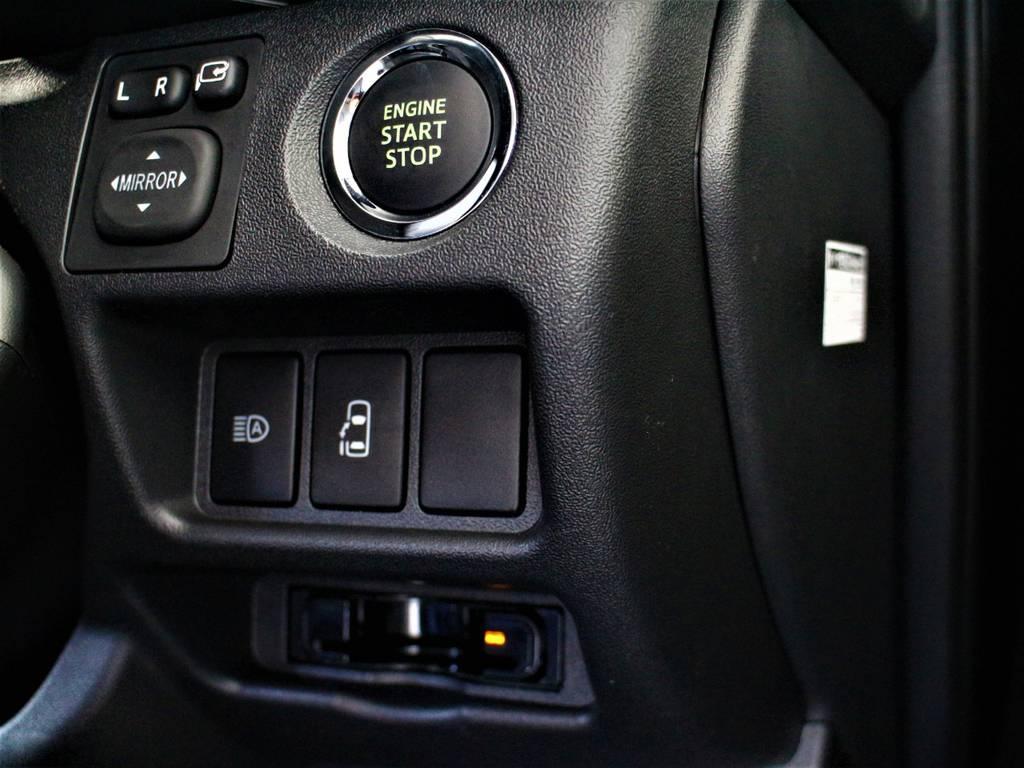 スマートキー&プッシュスタート! 左側パワースライドドア! 自動ハイビーム(オートマチックハイビーム)! ビルトインETC! | トヨタ ハイエース 2.7 GL ロング ミドルルーフ