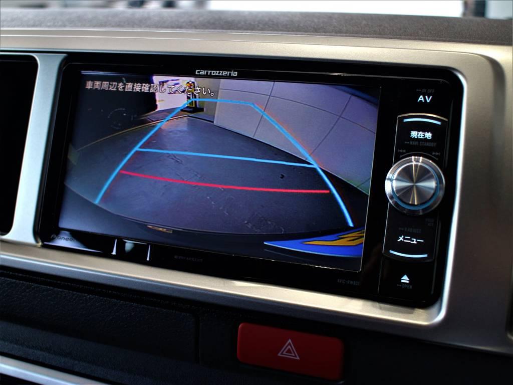 バックモニター連動加工済! | トヨタ ハイエース 2.7 GL ロング ミドルルーフ