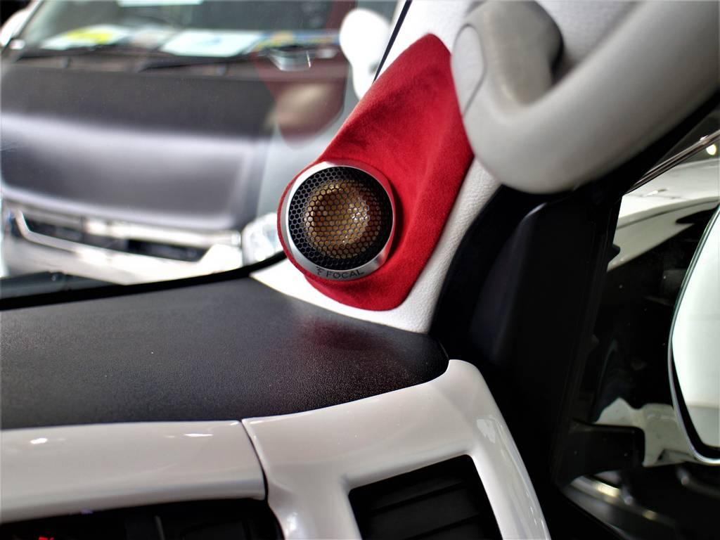社外Aピラースピーカー! | トヨタ ハイエースバン 2.0 スーパーGL ダークプライム ロングボディ 4型6速AT車