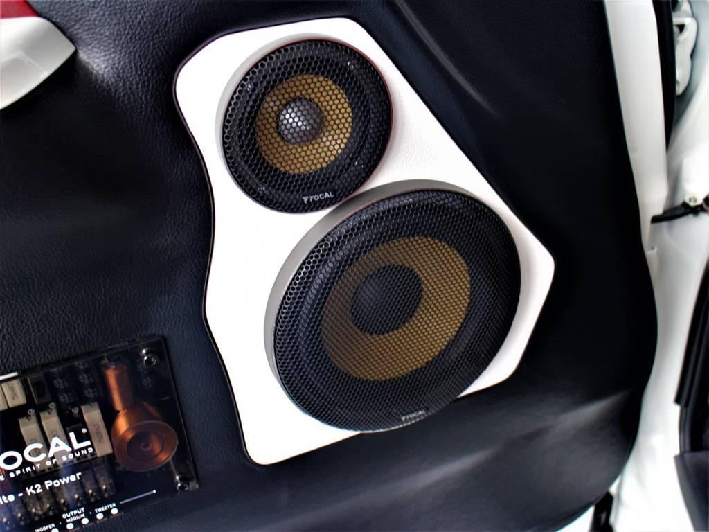 フロントドアスピーカー! | トヨタ ハイエースバン 2.0 スーパーGL ダークプライム ロングボディ 4型6速AT車