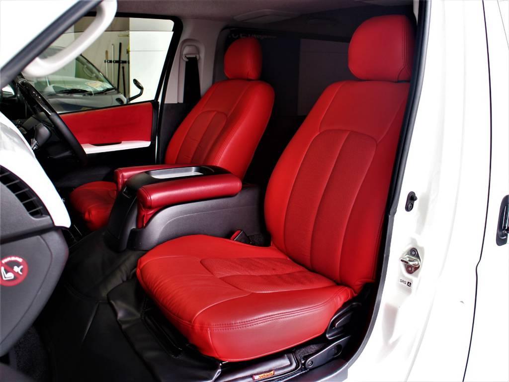全席シートカバー! | トヨタ ハイエースバン 2.0 スーパーGL ダークプライム ロングボディ 4型6速AT車