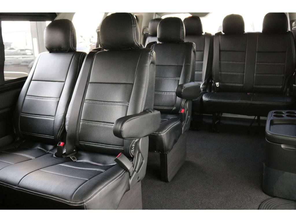 10人乗りです!   トヨタ ハイエース 2.7 GL ロング ミドルルーフ 4WD