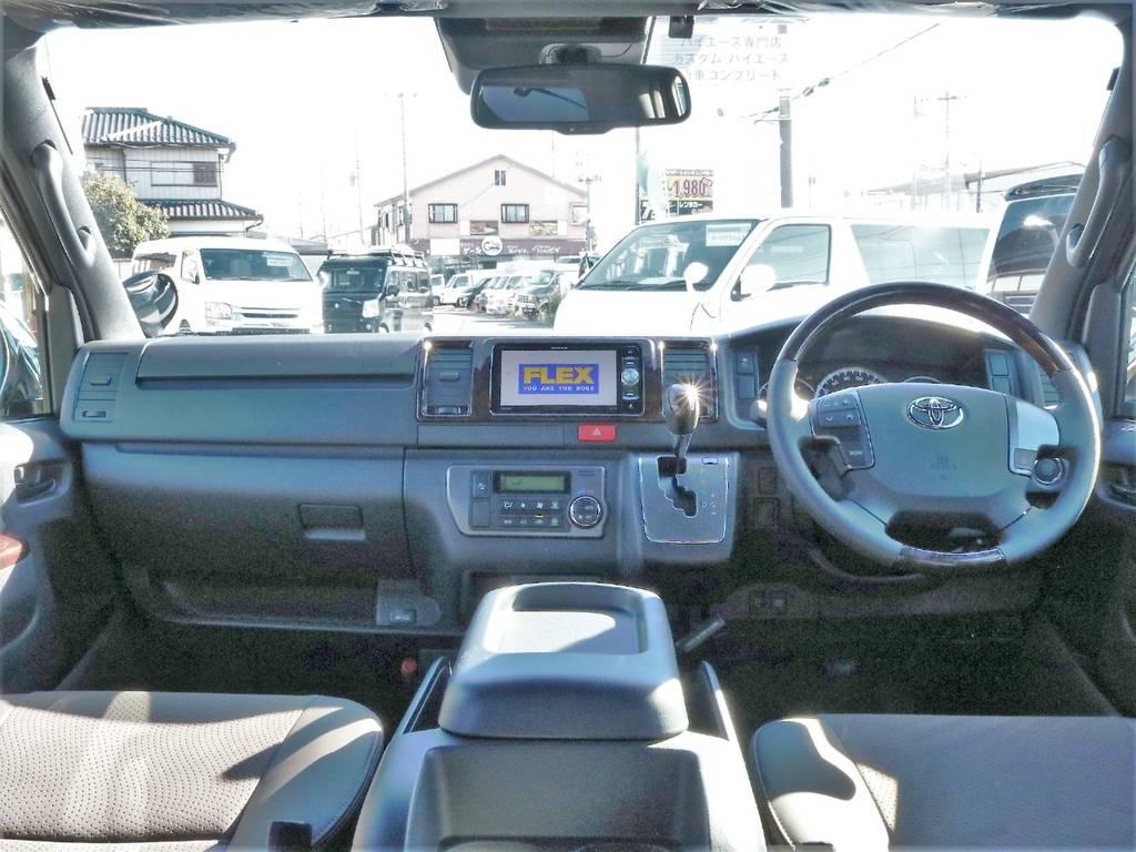 内外装ともにカスタム済みのお買い得な1台です! | トヨタ ハイエースバン 2.8 スーパーGL 50TH アニバーサリー リミテッド ロングボディ ディーゼルターボ 50th