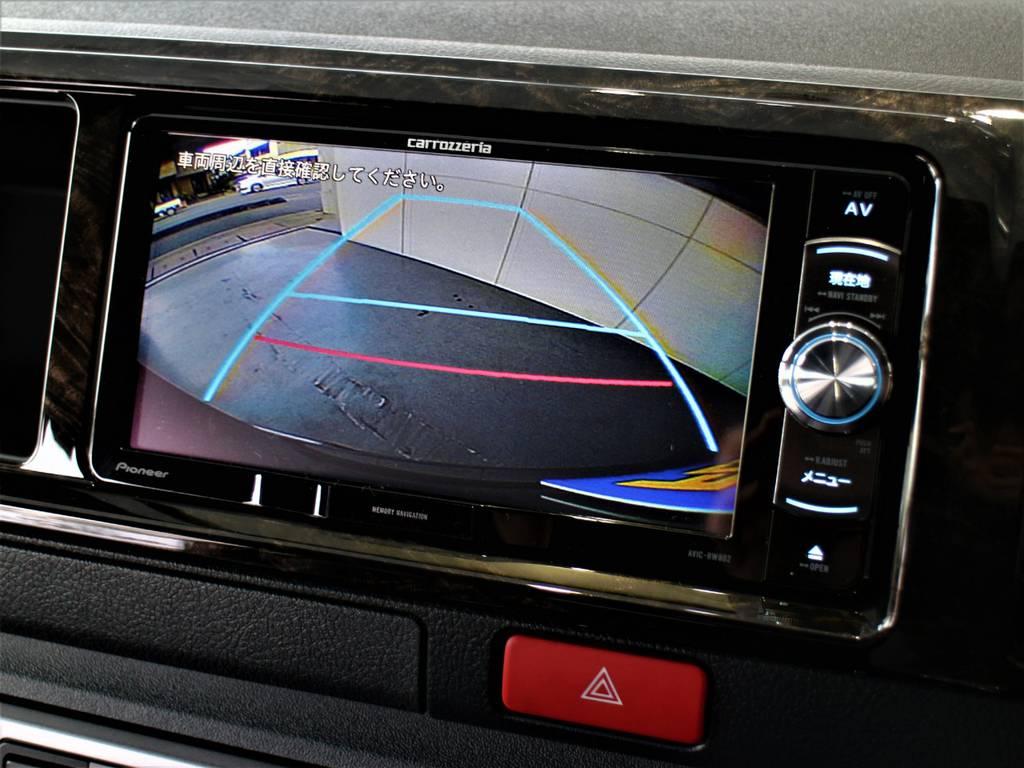 バックモニター連動加工済! | トヨタ ハイエースバン 2.7 スーパーGL ダークプライムⅡ ワイド ミドルルーフ ロングボディ 4WD