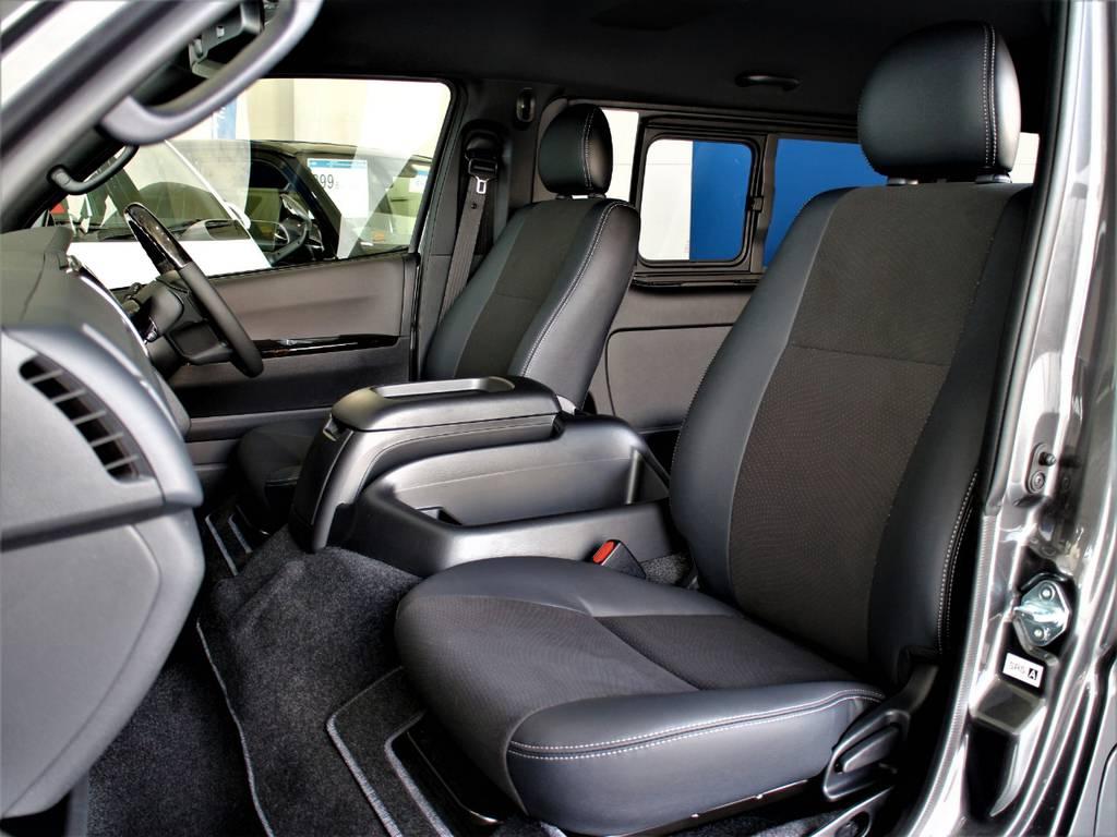 特別仕様車専用シートです! | トヨタ ハイエースバン 2.7 スーパーGL ダークプライムⅡ ワイド ミドルルーフ ロングボディ 4WD