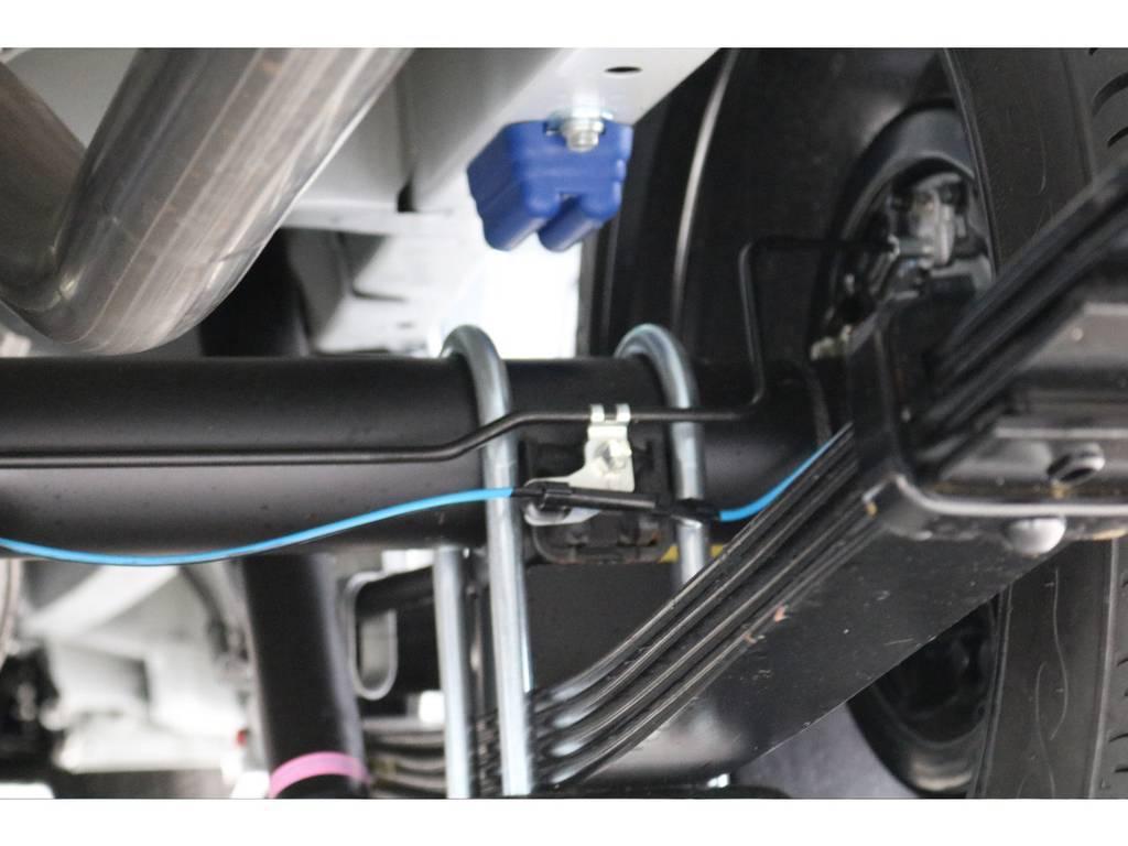 玄武 前後バンプラバー&リバンプストップ装着!! | トヨタ ハイエース 2.7 GL ロング ミドルルーフ TSS付 ナビパッケージ