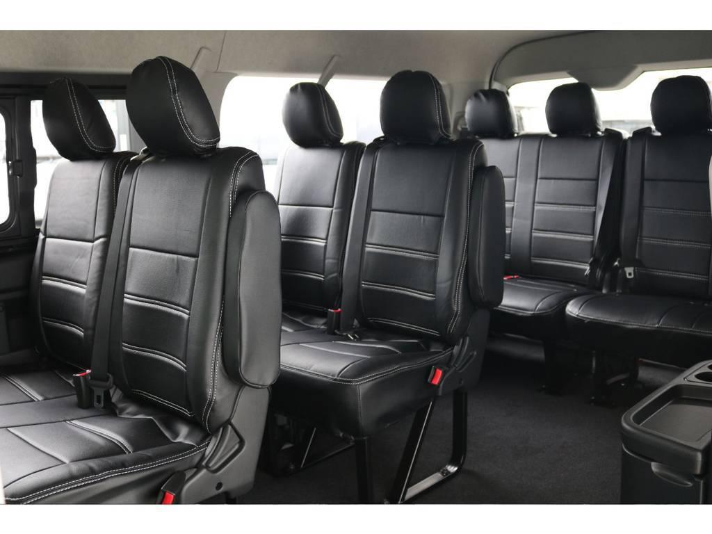 大人数でお出掛けできます!! | トヨタ ハイエース 2.7 GL ロング ミドルルーフ TSS付 ナビパッケージ