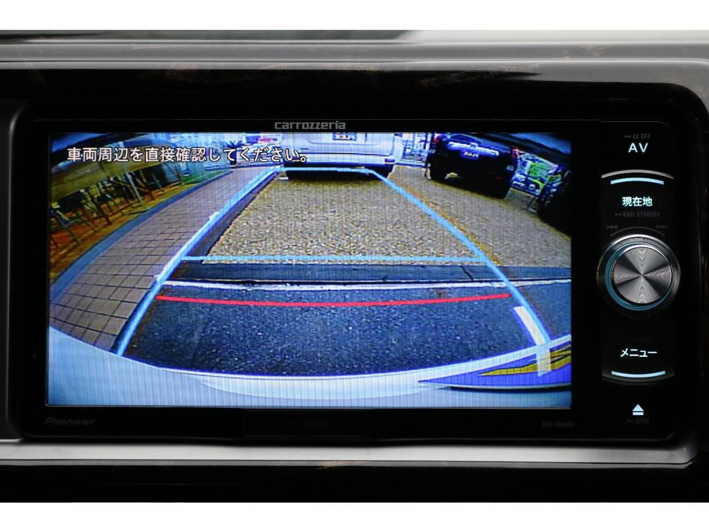 バックガイドモニター付きですので車庫入れも安心です♪ | トヨタ ハイエース 2.7 GL ロング ミドルルーフ TSS付 ナビパッケージ