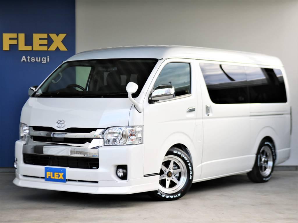 新車未登録 ワゴンGL 2.7L ガソリン 2WD ナビパッケージ | トヨタ ハイエース 2.7 GL ロング ミドルルーフ TSS付 ナビパッケージ