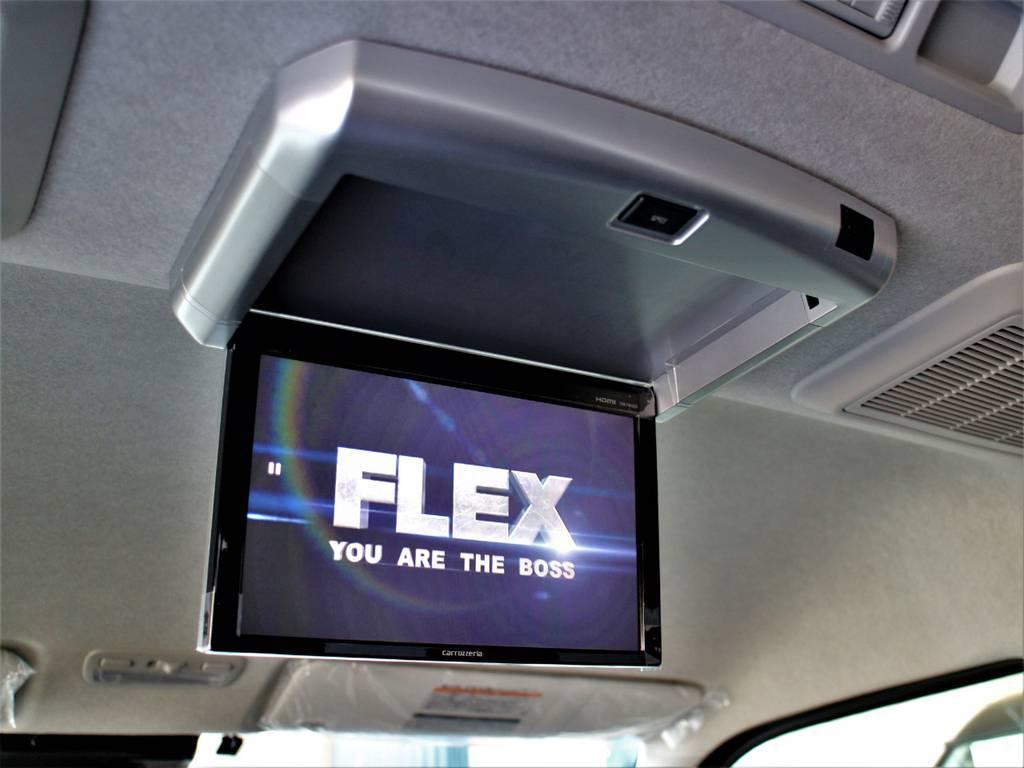 ※音楽録音・DVD再生・フルセグ・Bluetooth接続可! | トヨタ ハイエース 2.7 GL ロング ミドルルーフ 4WD アレンジR1内装架装