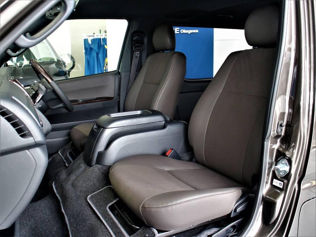 特別仕様車専用シートです! | トヨタ ハイエースバン 2.8 スーパーGL 50TH アニバーサリー リミテッド ロングボディ ディーゼルターボ 4WD