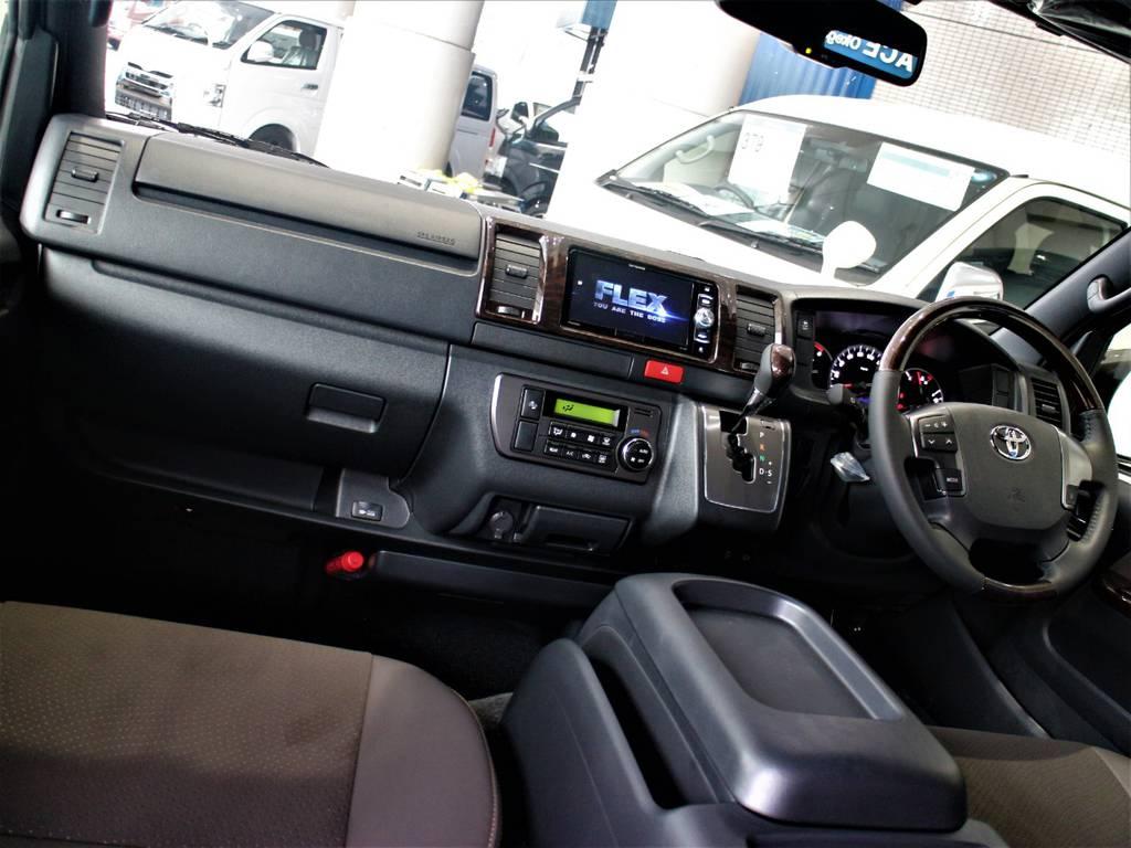 特別仕様車専用内装です!   トヨタ ハイエースバン 2.8 スーパーGL 50TH アニバーサリー リミテッド ロングボディ ディーゼルターボ