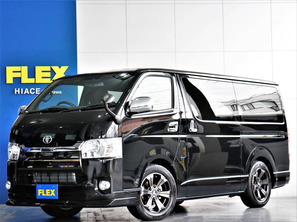 FLEXハイエースさいたま桶川店 お問い合わせはこちらまで 0487799122   トヨタ ハイエースバン 2.8 スーパーGL 50TH アニバーサリー リミテッド ロングボディ ディーゼルターボ