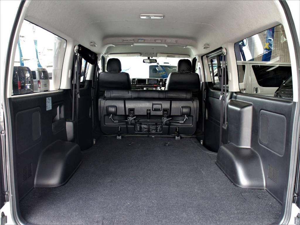 ワイドバンならではの荷室スペース!! | トヨタ ハイエースバン 2.7 スーパーGL ワイド ロング ミドルルーフ 4WD