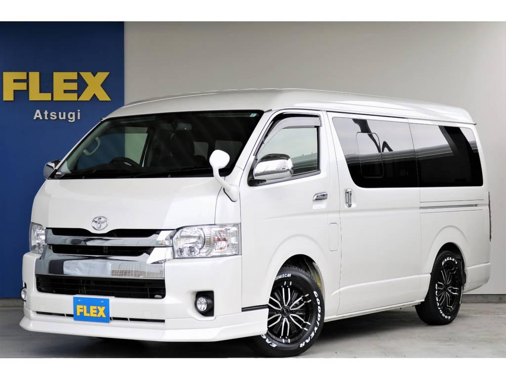 FLEXランクルハイエース厚木インター店 お問い合わせはこちらまで 0462806300 | トヨタ ハイエースバン 2.7 スーパーGL ワイド ロング ミドルルーフ 4WD